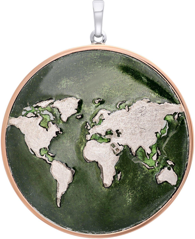bei Uhrcenter: Julie Julsen JJPE0606.2GR Damen-Anhänger World Silber 925 - Schmuck
