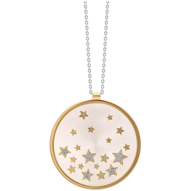 bei Uhrcenter: Julie Julsen JJNE0627.3 Damen-Halskette mit Anhänger Stars Silber 925 - Schmuck