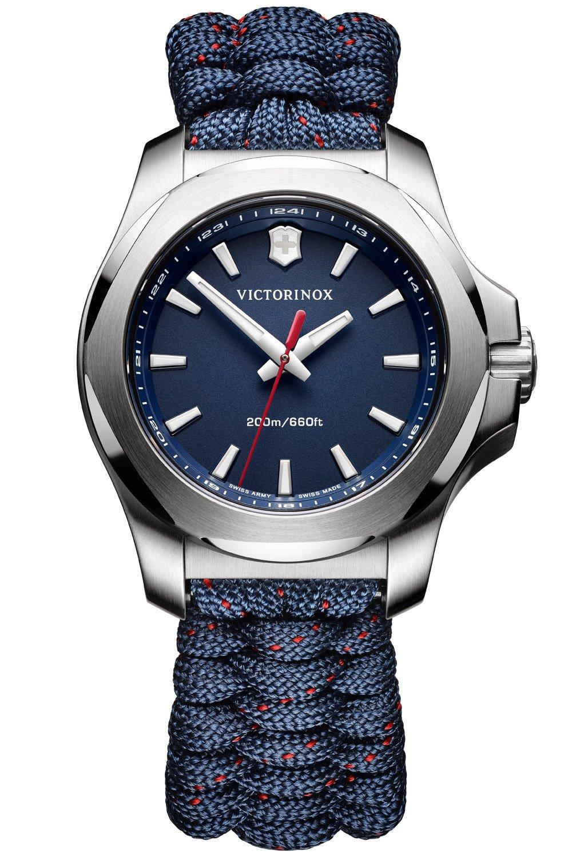 bei Uhrcenter: Victorinox 241770 I.N.O.X. V Damenuhr Blau mit Paracordband - Damenuhr