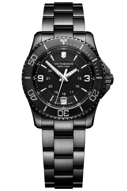 bei Uhrcenter: Victorinox 241799 Damenuhr Maverick Chrono Black Edition - Damenuhr
