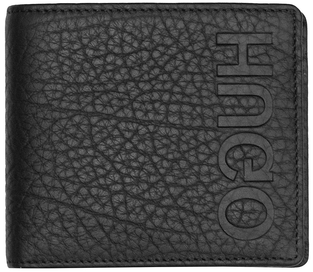 Hugo 50402991 Leder-Geldbörse Victorian Schwarz