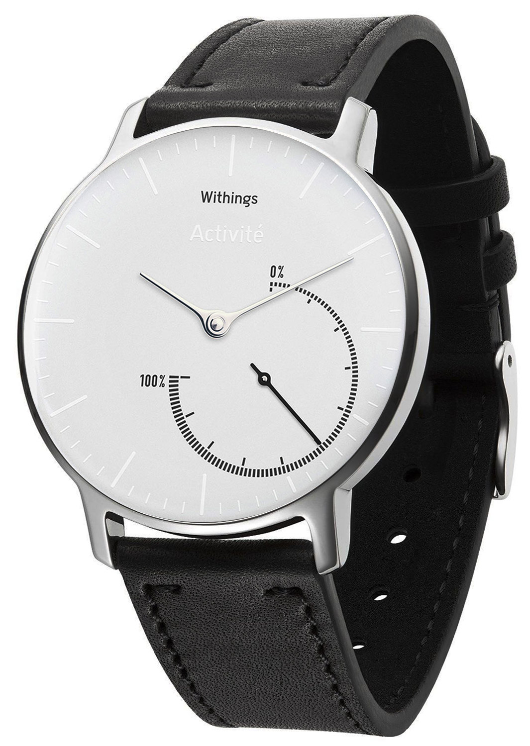 Withings HWA01 Activité Steel White Inflight Ak...