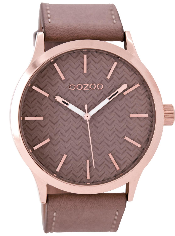 Oozoo C9016 Damenuhr Pinkgrau 45 mm