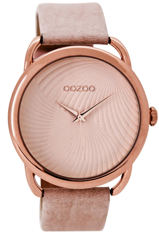 Oozoo C9161 Damenuhr Rosé/Pinkgrau 42 mm