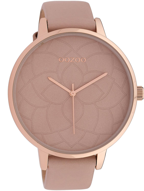 bei Uhrcenter: Oozoo C10102 Damenuhr Altrosa 48 mm - Damenuhr