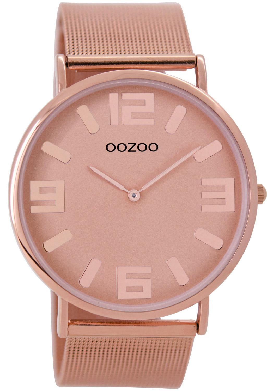 Oozoo C8883 Unisex Armbanduhr Rosé 42 mm