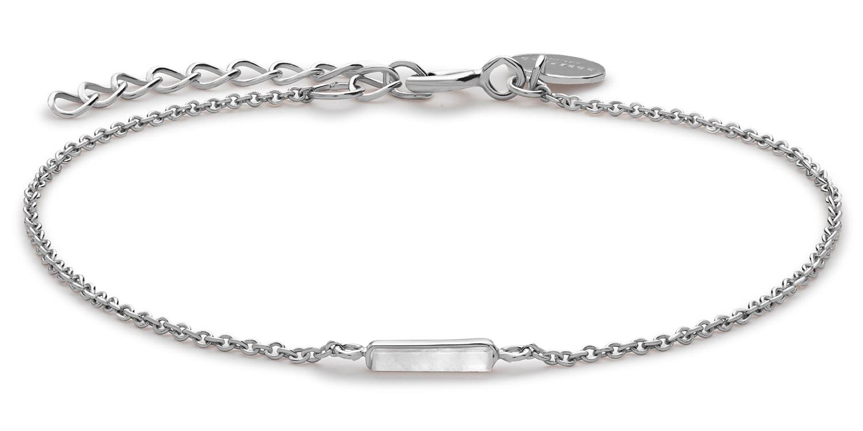 Rosefield JMOS-J004 Damen-Armkette Mott Silver