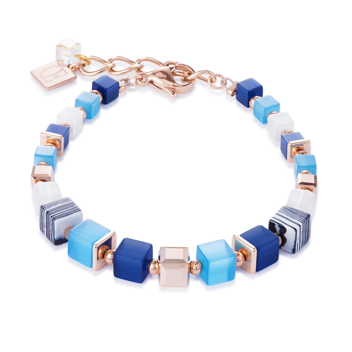 bei Uhrcenter: Coeur de Lion 4963/30-0706 Damen-Armband Blau/Türkis - Schmuck