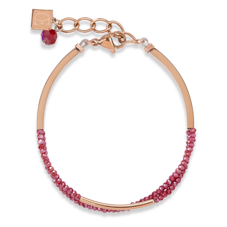 bei Uhrcenter: Coeur de Lion 4960/30-0300 Damen-Armband Weinrot - Schmuck
