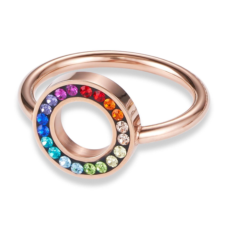 bei Uhrcenter: Coeur de Lion 4973/40-1500 Damen-Ring Multicolor - Schmuck