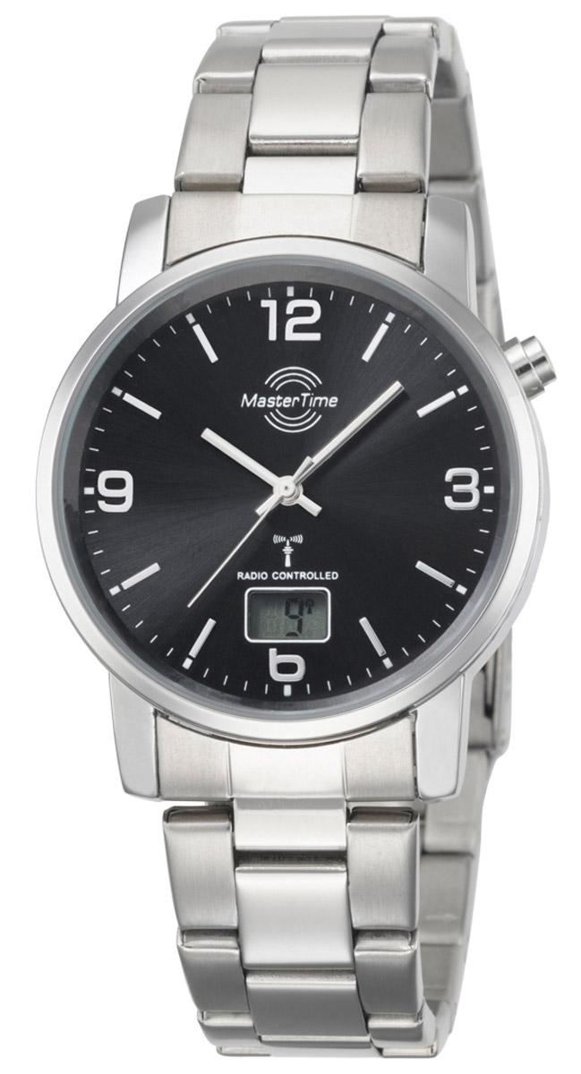 Master Time MTGA-10302-21M Herren-Funkuhr Basic Classic
