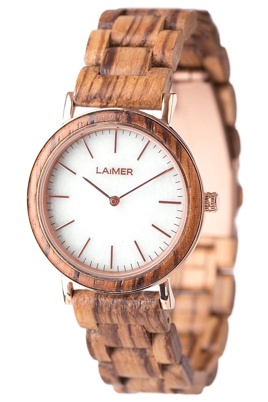 bei Uhrcenter: Laimer 0072 Holz-Damenuhr Leona - Damenuhr