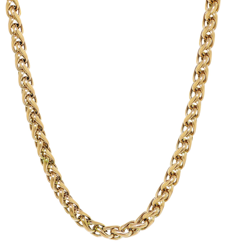bei Uhrcenter: Ernstes Design AK11 Damen-Halskette Edelstahl vergoldet - Schmuck