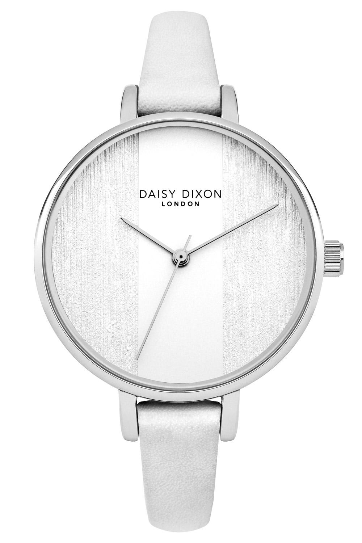 bei Uhrcenter: Daisy Dixon DD045WS Damenuhr Simone Weiß/Silber - Damenuhr
