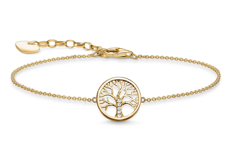 Thomas Sabo A1828-414-14-L19v Damenarmband Tree of Love