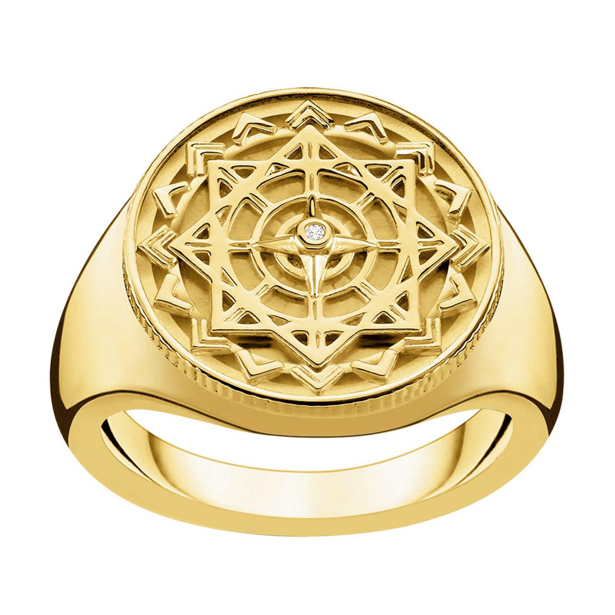 Thomas Sabo D_TR0042-924-14 Damen-Ring Vintage Kompass