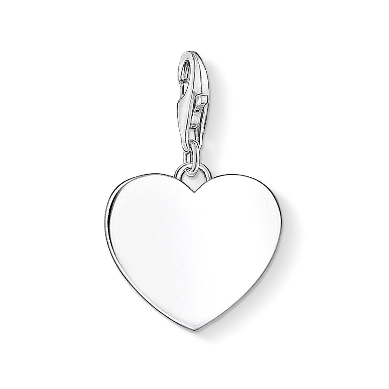Thomas Sabo 1634-001-21 Charm-Anhänger Herz Silber