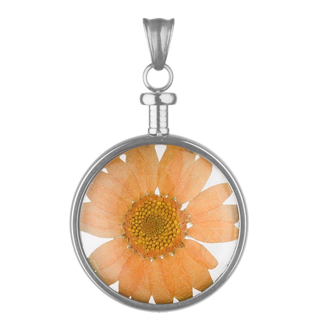bei Uhrcenter: Blumenkind BL01MSSOR Blüten-Anhänger Orange - Schmuck