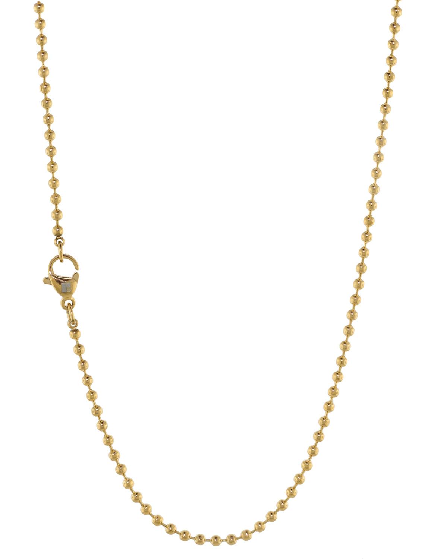 bei Uhrcenter: Blumenkind SC072G Damen-Halskette Goldfarben - Schmuck