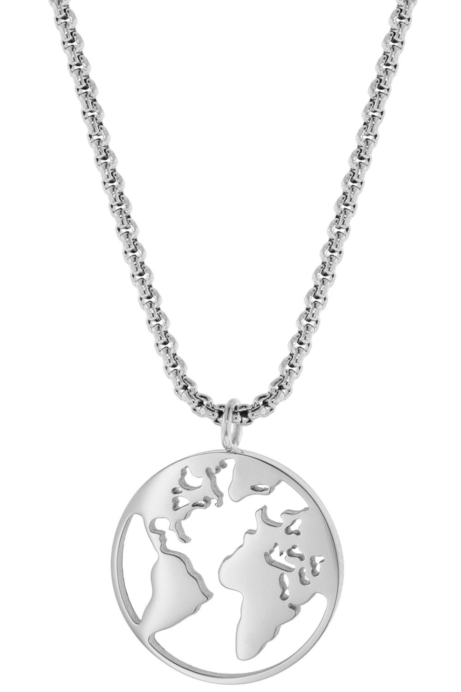 bei Uhrcenter: Blumenkind WBN01SS Damen-Halskette Weltenbummler - Schmuck