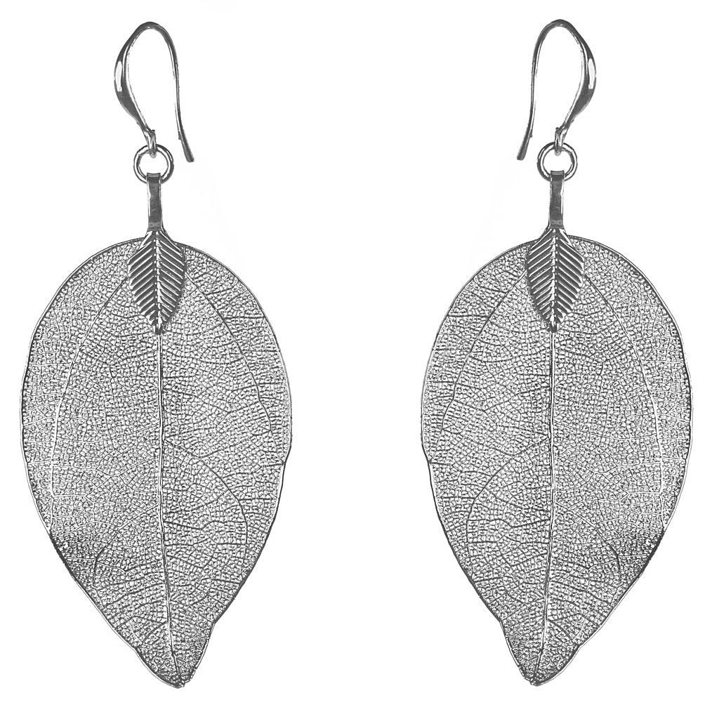 bei Uhrcenter: Blumenkind BLE03SSS Damen-Ohrringe Blätter - Schmuck