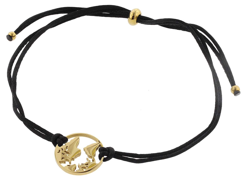 bei Uhrcenter: Blumenkind WBB01GO Damen-Armband Weltenbummler Goldfarben - Schmuck