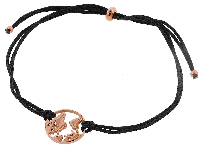 bei Uhrcenter: Blumenkind WBB01RO Damenarmband Weltenbummler Roségoldfarben - Schmuck