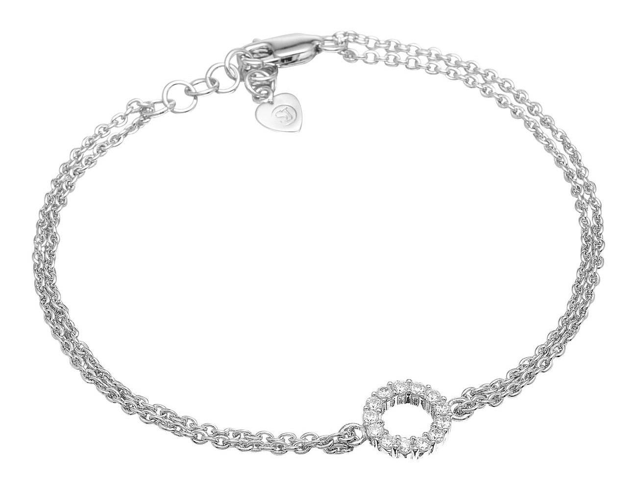 bei Uhrcenter: Sif Jakobs Jewellery SJ-B337(1)-CZ Silber-Armband Biella Piccolo - Schmuck