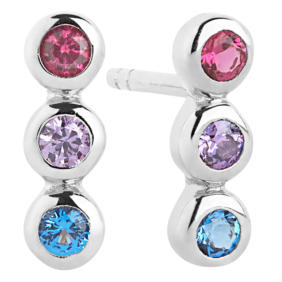 bei Uhrcenter: Sif Jakobs Jewellery SJ-E2640-XCZ Silber Damen-Ohrringe Sardinien Tre Piccolo - Schmuck