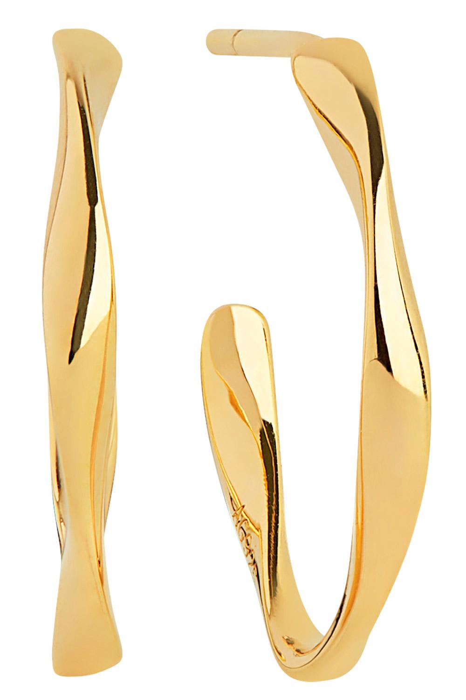 bei Uhrcenter: Sif Jakobs Jewellery SJ-E3004-(YG) Ohrringe Creolen Cetara Piccolo Pianura - Schmuck