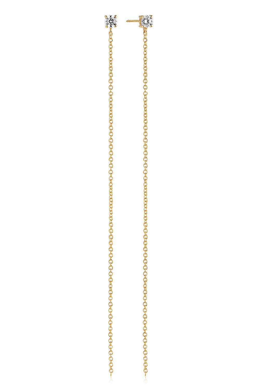 bei Uhrcenter: Sif Jakobs Jewellery SJ-E1072-CZ(YG) Ohrringe Princess Lungo - Schmuck