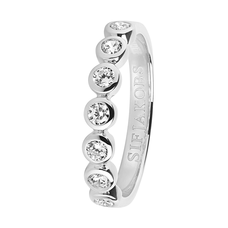 bei Uhrcenter: Sif Jakobs Jewellery SJ-R11186-CZ Silber Damenring Sardinien Sette - Schmuck