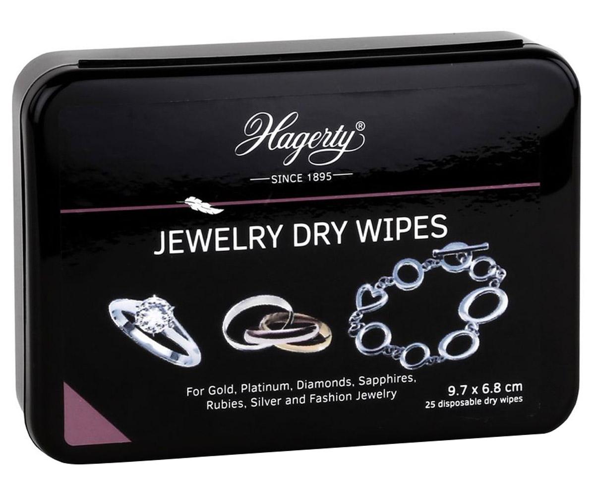 bei Uhrcenter: Hagerty A116339 Schmuck-Reinigungstücher Jewelry Dry Wipes 25 Stück - Schmuck