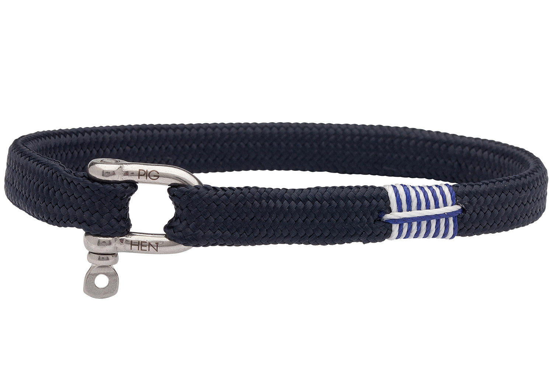 bei Uhrcenter: Pig & Hen P19-63000 Unisex-Armband Vicious Vik Navy - Schmuck
