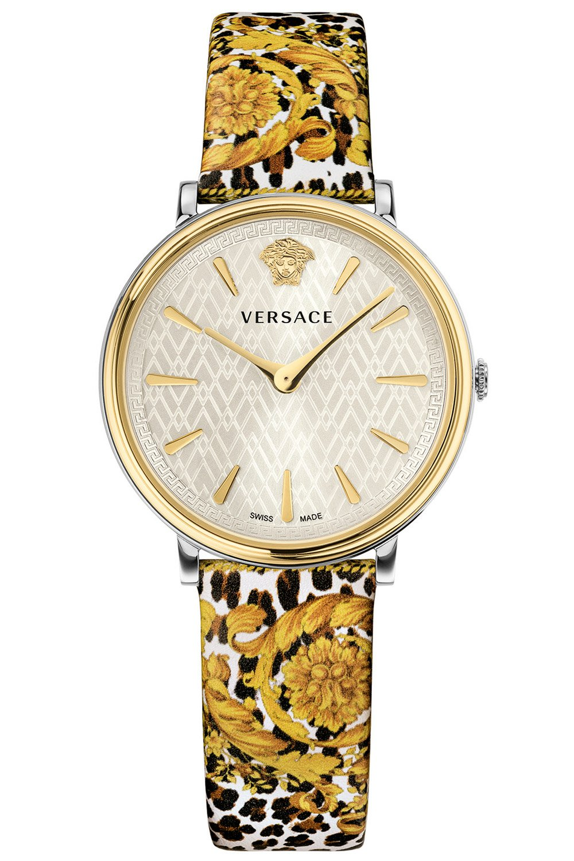 bei Uhrcenter: Versace VBP120017 Damenuhr V-Circle Tribute Edition Weiß - Damenuhr