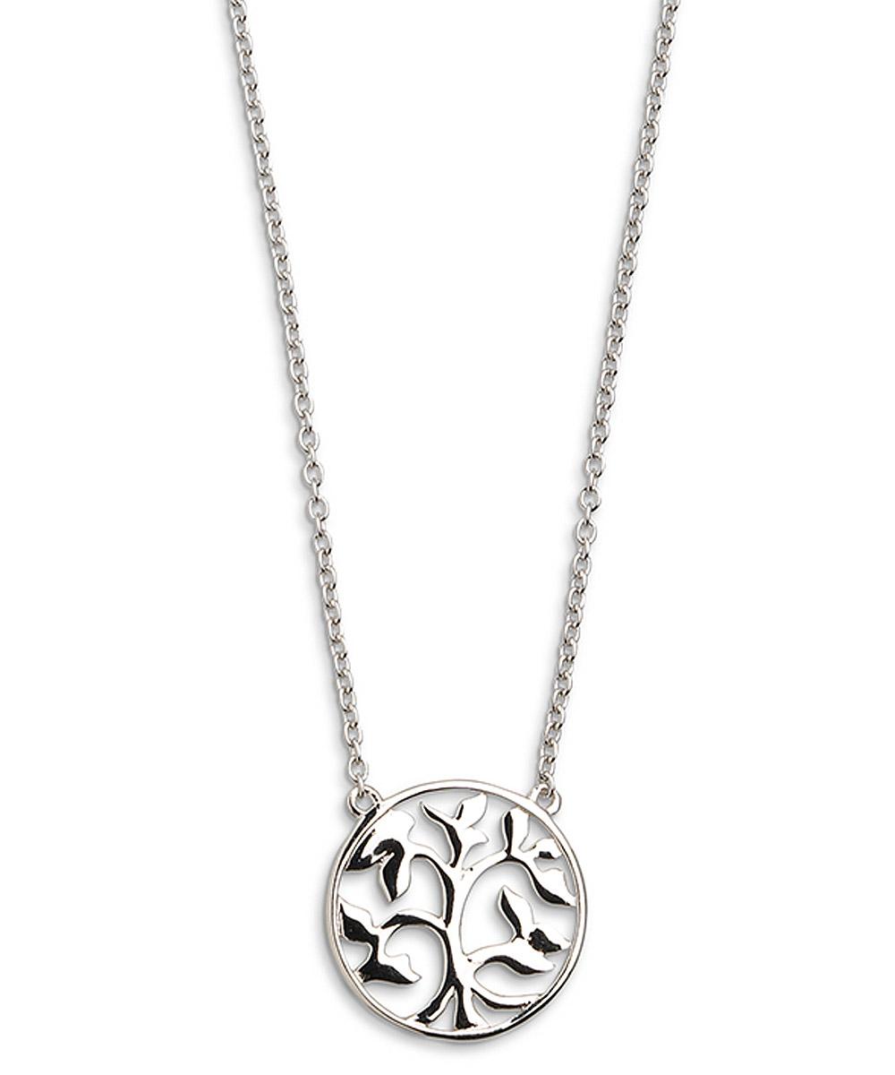 Xenox XS2896 Silber Damen-Halskette Lebensbaum