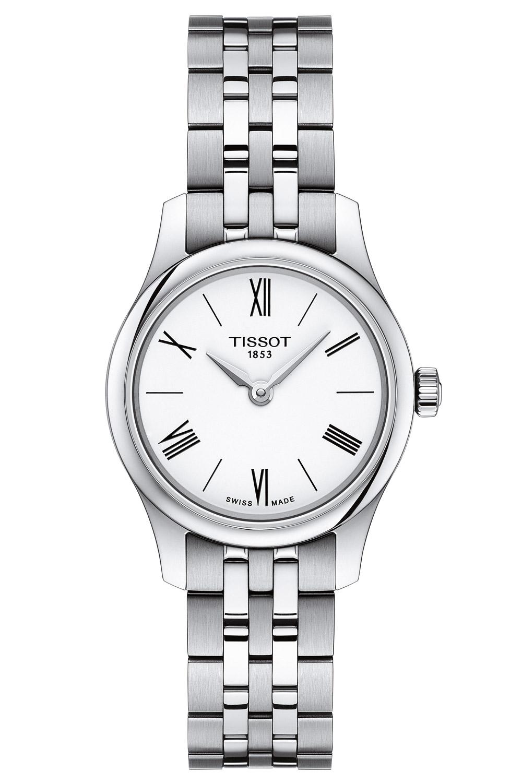 bei Uhrcenter: Tissot T063.009.11.018.00 Damenuhr Tradition Quarz - Damenuhr