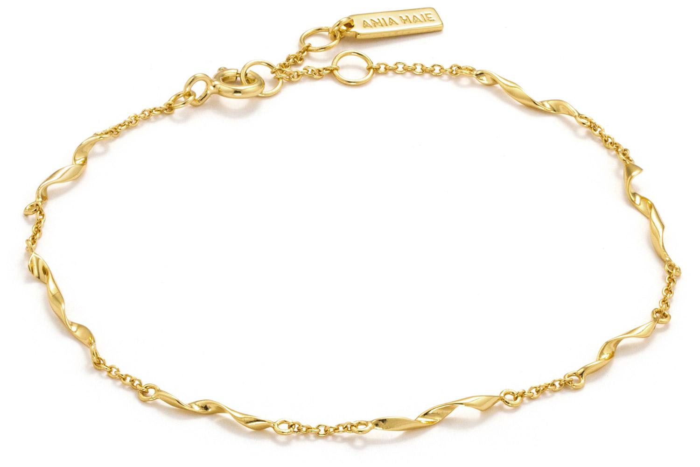 bei Uhrcenter: Ania Haie B012-03G Damenarmband Silber Goldplattiert Helix - Schmuck
