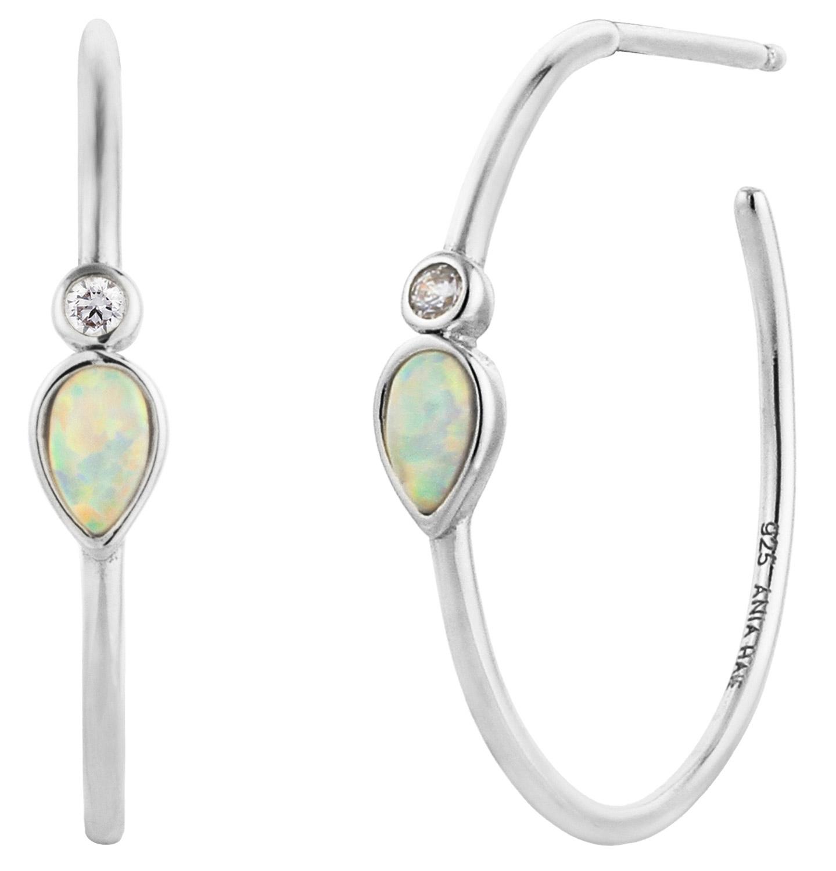 bei Uhrcenter: Ania Haie E014-04H Damen-Ohrringe Opal Colour Raindrop - Schmuck