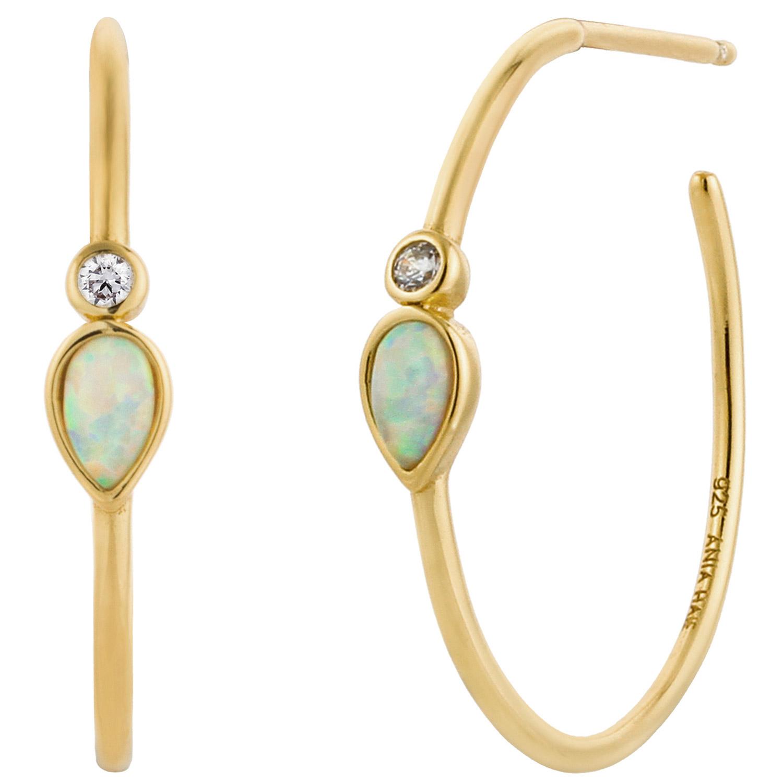bei Uhrcenter: Ania Haie E014-04G Damen-Ohrringe Opal Colour Raindrop - Schmuck
