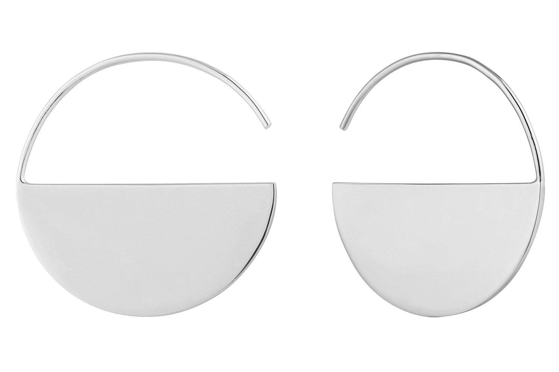 bei Uhrcenter: Ania Haie E005-02H Silber Damen-Creolen Ohrringe Geometry - Schmuck
