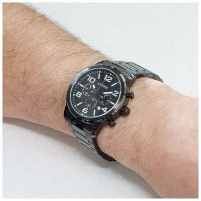 citizen chronograph herren uhr chrono an8056 54e ebay. Black Bedroom Furniture Sets. Home Design Ideas