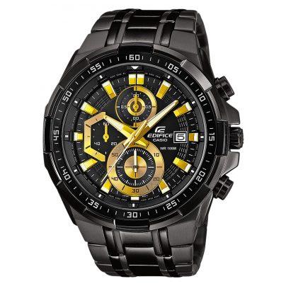 Casio Uhr Edifice Herren-Chronograph Chrono EFR-539BK-1AVUEF