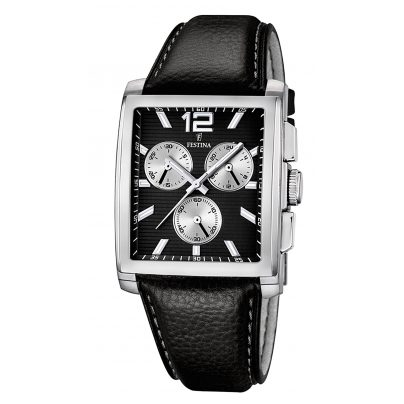 festina uhr herren chronograph chrono f16756 4 ebay. Black Bedroom Furniture Sets. Home Design Ideas