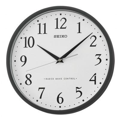 seiko radio wall clock qxr210k ebay. Black Bedroom Furniture Sets. Home Design Ideas