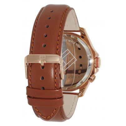 tommy hilfiger uhr baron gmt herren armbanduhr 1790974 ebay. Black Bedroom Furniture Sets. Home Design Ideas
