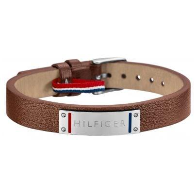 tommy hilfiger jewelry leather men 39 s bracelet 2700680 ebay. Black Bedroom Furniture Sets. Home Design Ideas