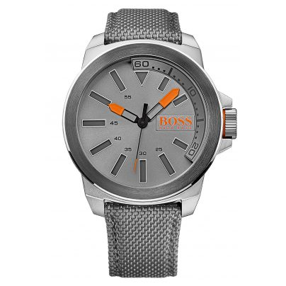 boss orange uhr new york herren armbanduhr 1513115. Black Bedroom Furniture Sets. Home Design Ideas