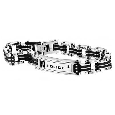 police schmuck carb herren armband pj24919bsb 01 ebay. Black Bedroom Furniture Sets. Home Design Ideas