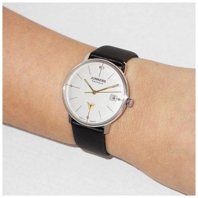 junkers uhr bauhaus damen armbanduhr 6073 1. Black Bedroom Furniture Sets. Home Design Ideas